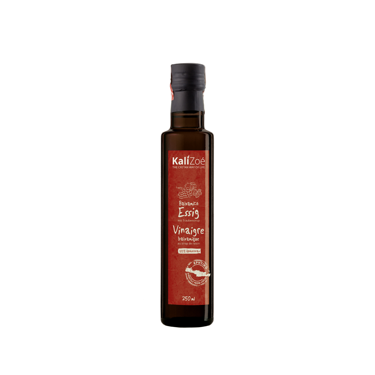 Balsamic vinegar with grape syrup – 250ml