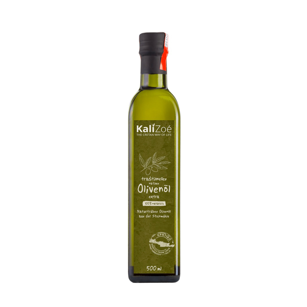 500ml – olive oil extra virgin non filtered